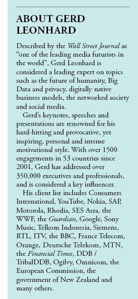Gerd Leonhard Bio