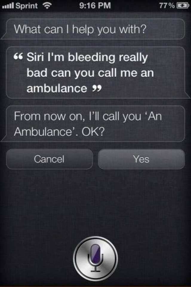siri funny call ambulance 9xQkszx