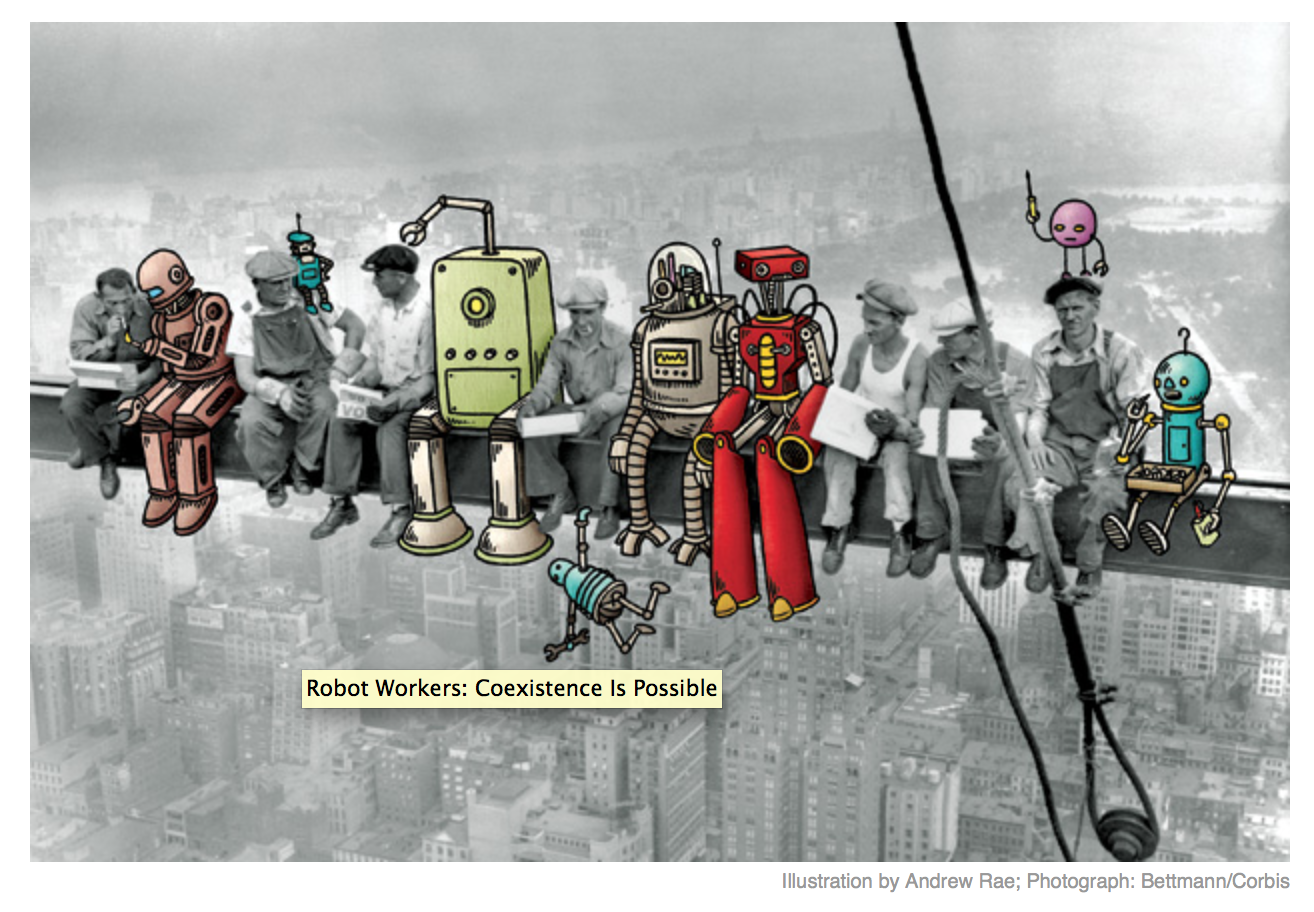 businessweek robot workers coexist