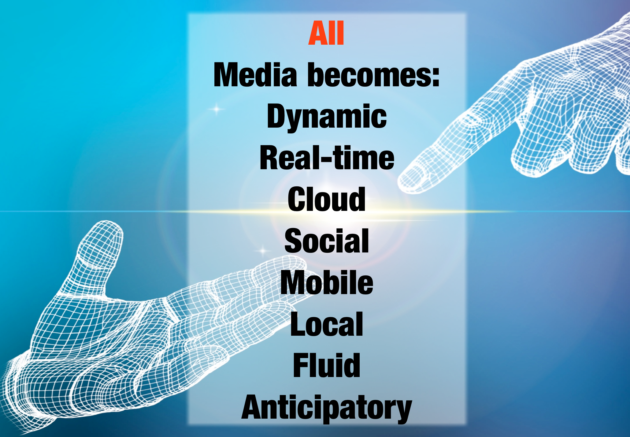 all media becomes fluid realtime cloud gerd leonhard