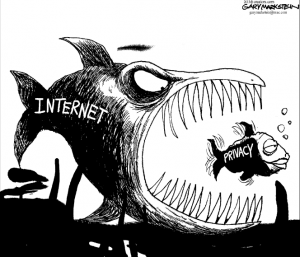 comic internet eats privacy