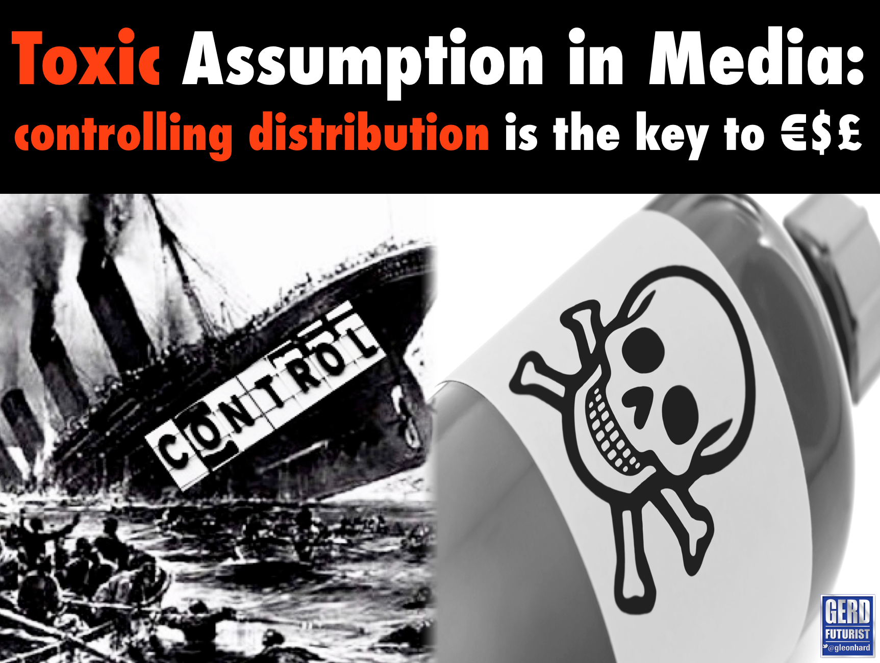 toxic assumption media control distribution gerd leonhard futurist