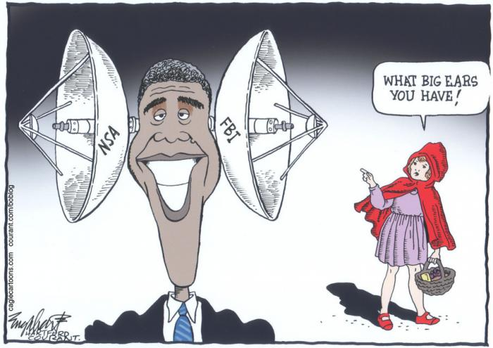 obama nsa Bob Englehart from Hartford Courant