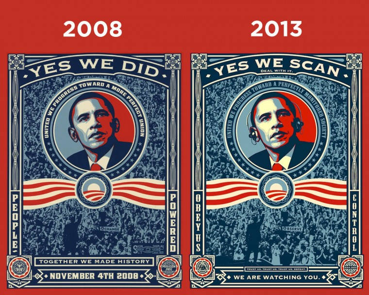 top nsa yes we sacn yes we did obama