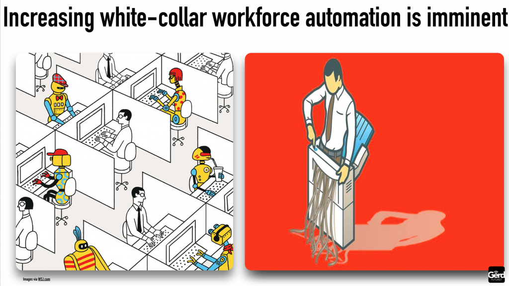 while collar automation is imminent