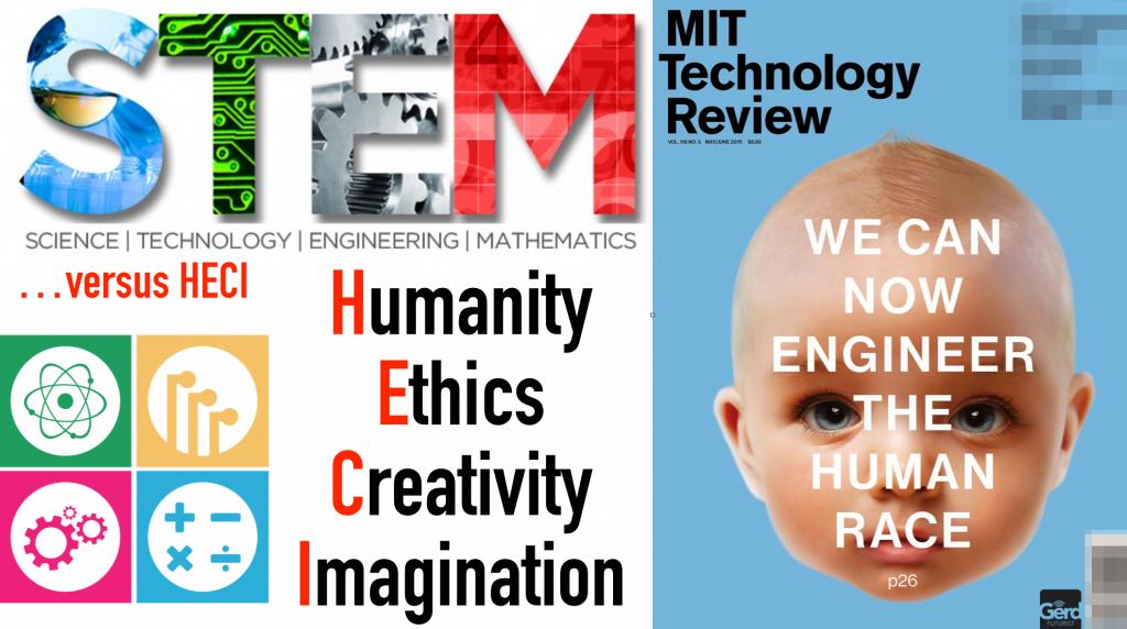 STEM versus HECI technology humanity gerd leonhard futurist