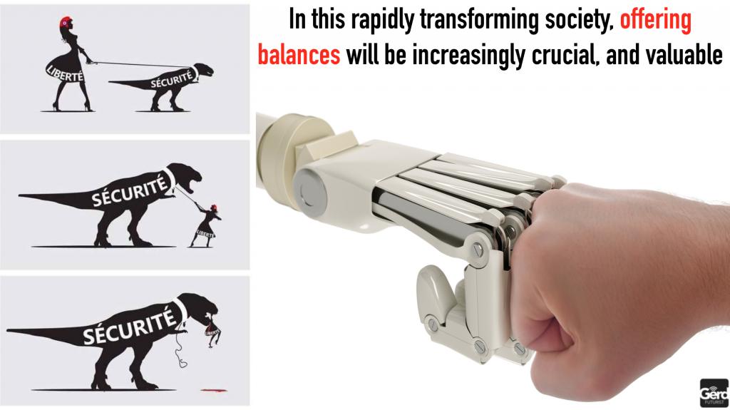 offering balance technolohy humanity gerd leonhard futurist