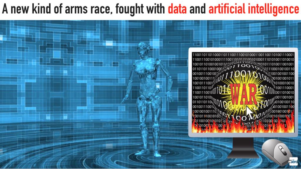 new arms race AI futuristgerd