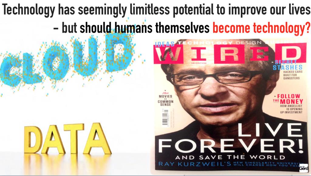 should humans become technology futuristgerd