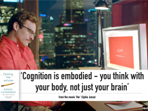 cognition is embodied HER movie futuristgerd