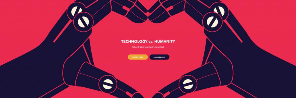 techvshuman book gerd leonhard