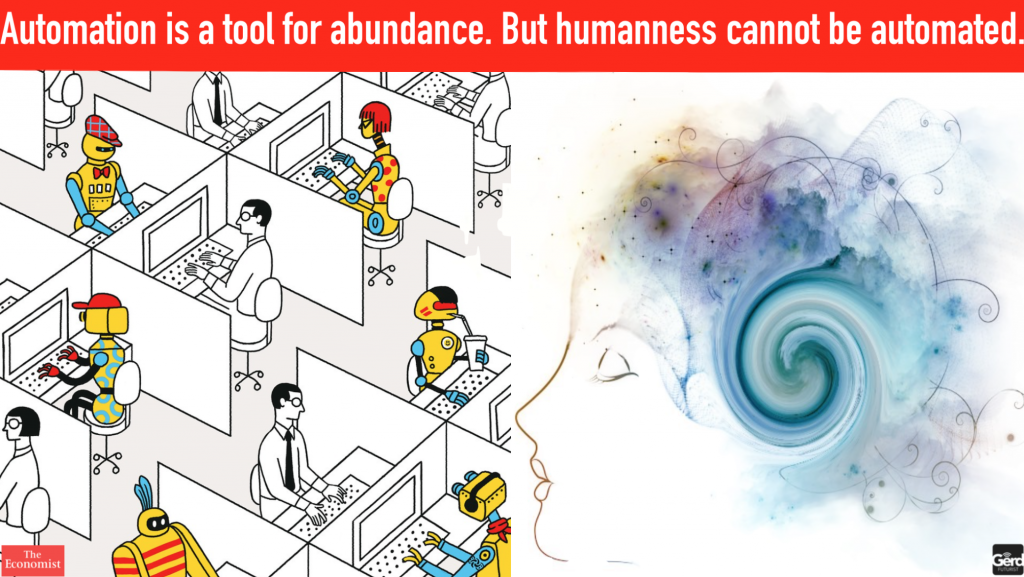 automation abundance happiness gerd leonhard
