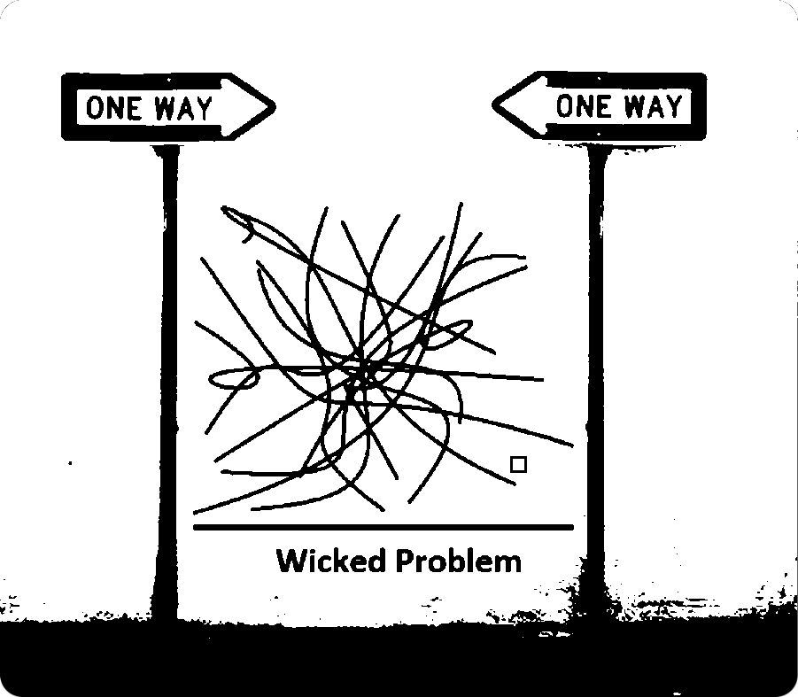 wicked problem signs bw