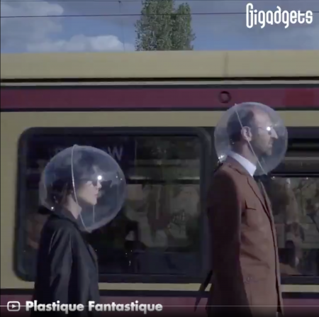 Futurist Gerd: I want one of these covid helmets (yes, I'm joking)