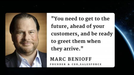 Futurist Gerd: You need to get to the future, ahead of your customers, and be ready to greet them when they arrive!
