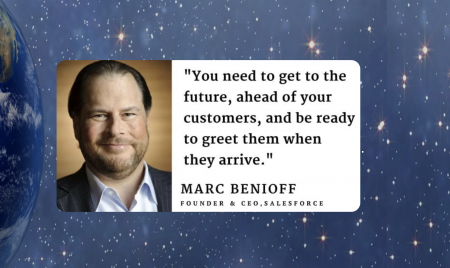 Futurist Gerd: Get to the Future BEFORE you customers do (Marc Benioff)