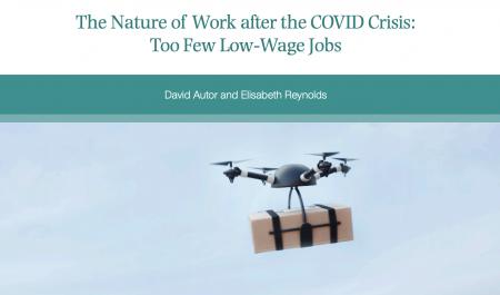 Futurist Gerd: David Autor / Brookings Report on Post-Covid Work Futures (pdf)