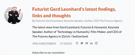 Futurist Gerd: Sign up for my Best Finds & Links Newsletter!