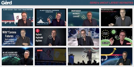 Futurist Gerd: Watch my uncut keynotes, full-length, here