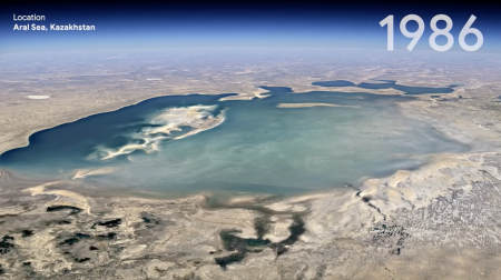 Futurist Gerd: Time Lapse on Google Earth shows big transformations